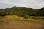 The valley of the farm's Pietraia.